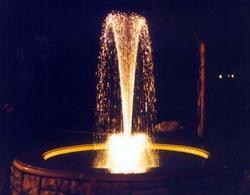 Silver Arch Water Fountain
