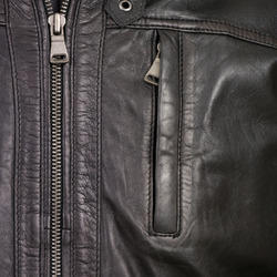 Leather Zippers