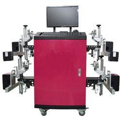 3D Wheel Alignment Machine