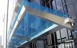 Fancy Stainless Steel Canopy