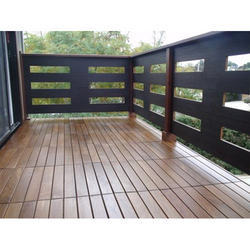 Hard Wood Deck Tiles