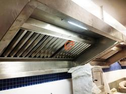 Suction Canopy for Kitchen