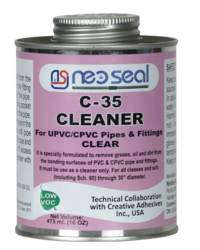NeoSeal C-35 CLEANER CLEAR Low VOC For PVC/UPVC/CPVC